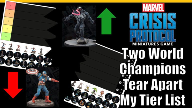 Two World Class Players Tear my August Marvel Crisis Protocol Tier List Apart