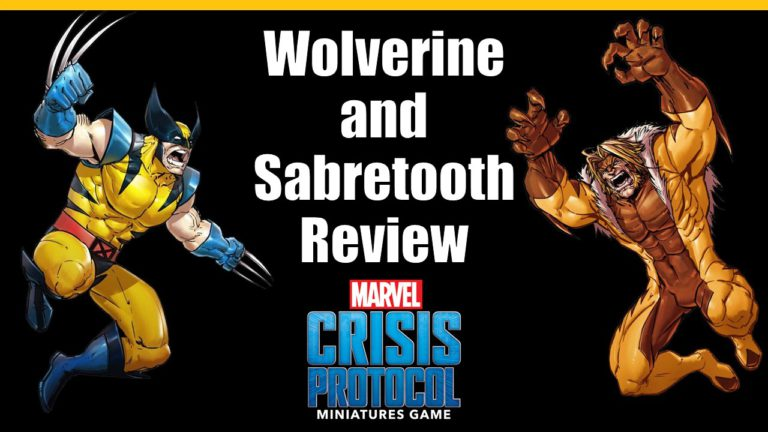 Wolverine and Sabretooth Review for Marvel Crisis Protocol