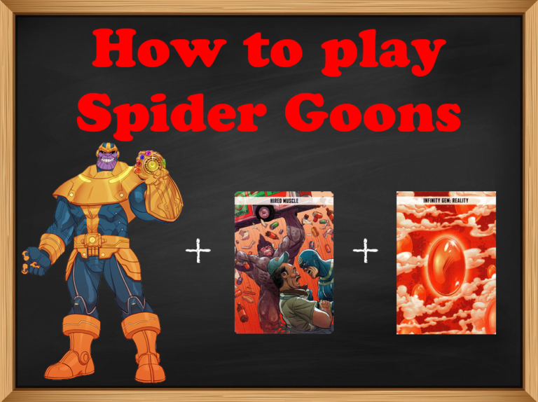The Spider Goons Strat