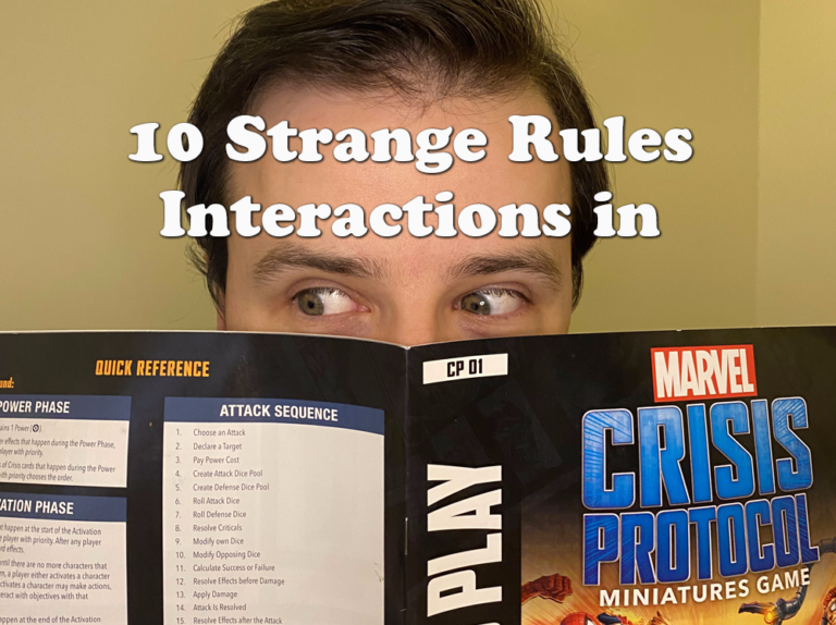 10 Strange Rules Interactions in Marvel Crisis Protocol