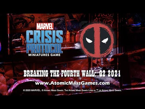 Marvel: Crisis Protocol Deadpool Trailer from Atomic Mass Games