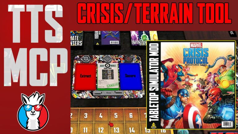 Tabletop Simulator Marvel Crisis Protocol Tutorials: Terrain and Crisis Spawner