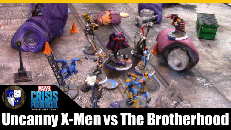 X-Men VS Brotherhood Battle Report