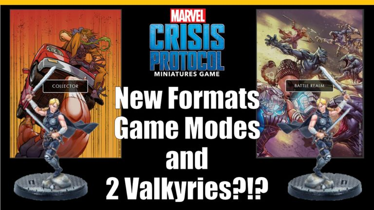 2 New Formats and Games Added as New Ways to Play Marvel Crisis Protocol