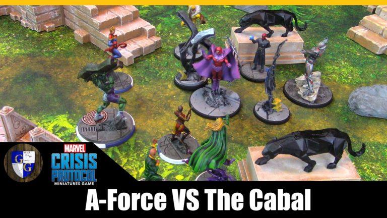 MCP Battle Report: A-Force Vs Cabal