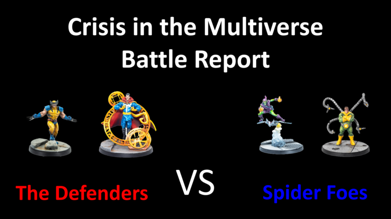 Ozark Gladiators present S1E15 – The Defenders vs Spider Foes. A Marvel: Crisis Protocol Battle Report
