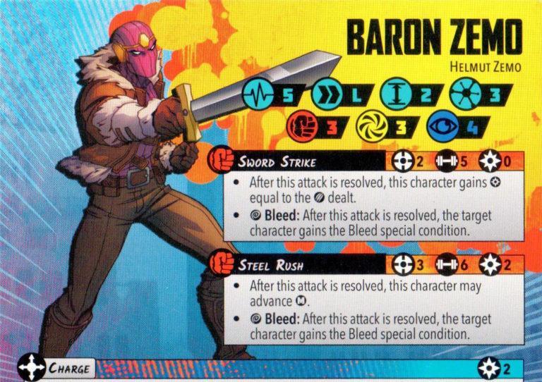 Baron Zemo in 1 min or less