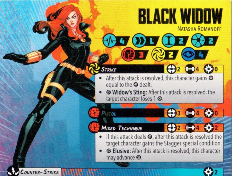 Black Widow (Core) in 1 min or less