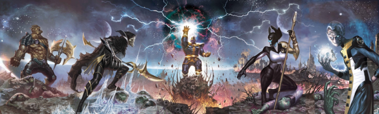 Oh Snap!: The Thanos Thesis – Chapter 2: Characters