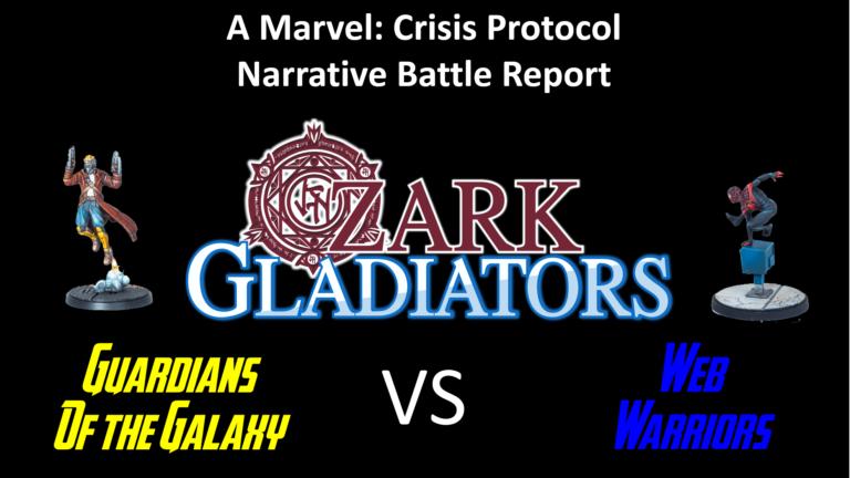 Ozark Gladiators presents Guardians of the Galaxy vs Web Warriors
