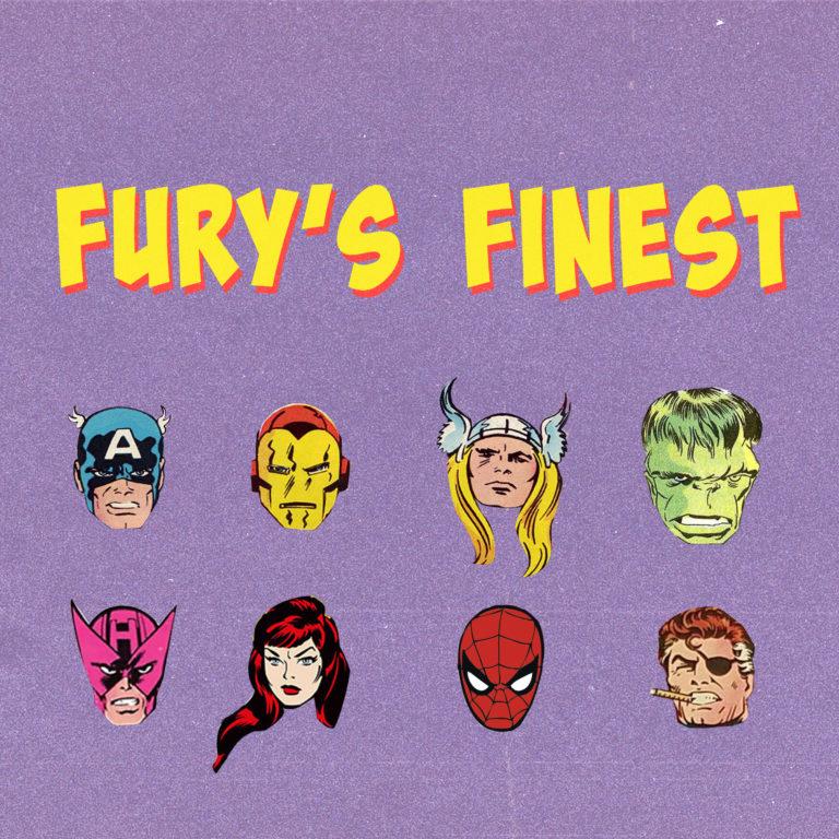 Fury's Finest 63: June News: Lizard, Kraven the Hunter, Sam Wilson Captain America, Warmachine, Omega Red, Jean Grey, and Cassandra Nova