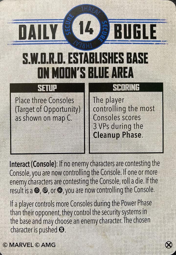 Due Dilligence: SWORD Establishes Base on Moon's Blue Area